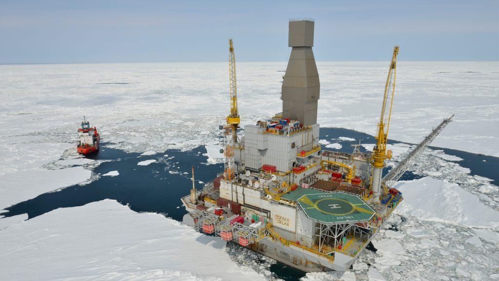 Plataforma no Artico